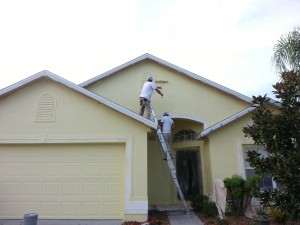 Exterior Painting Stucco home